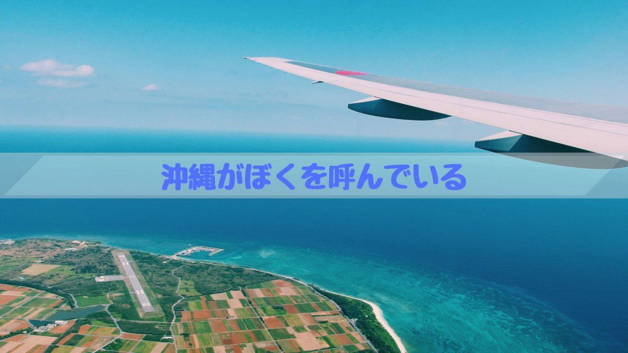 沖縄がぼくを呼んでいる